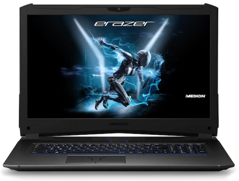 Medion Erazer X7855 - Gaming Notebook (i7, GTX 1060, 16GB, 256GB SSD) für 1.199€