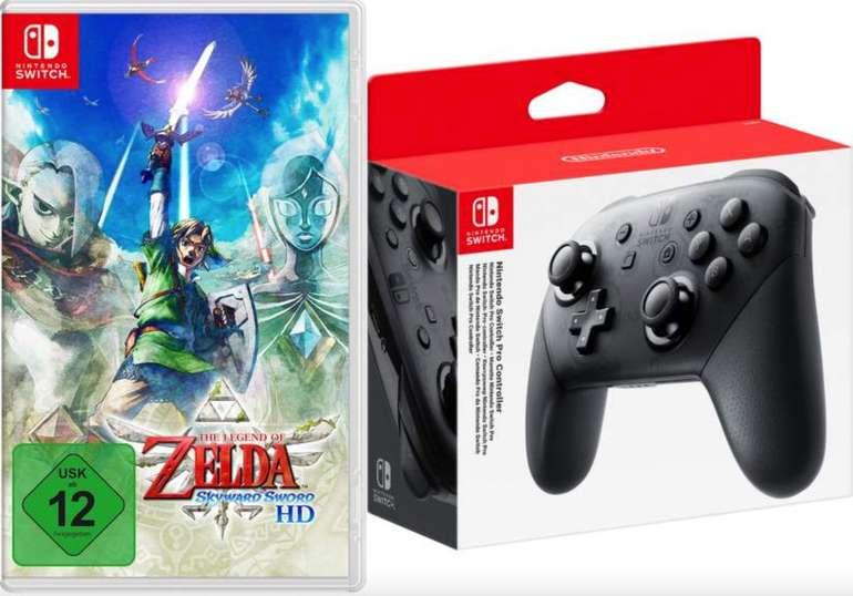 The Legend of Zelda: Skyward Sword HD + Nintendo Switch Pro Controller für 90,78€ inkl. Versand (statt 107€) - Newsletter!