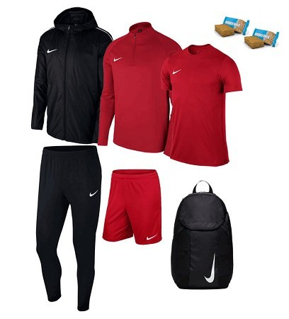 6-tlg. Nike Academy 18 Trainingsset + 2 Energy Cakes für 83,95€ inkl. Versand