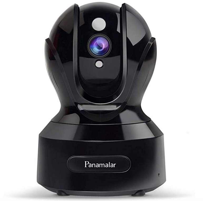 Panamalar - 1080p WLAN IP Kamera mit Alexa Support & Nachtsicht (350° schwenkbar) für 34,49€
