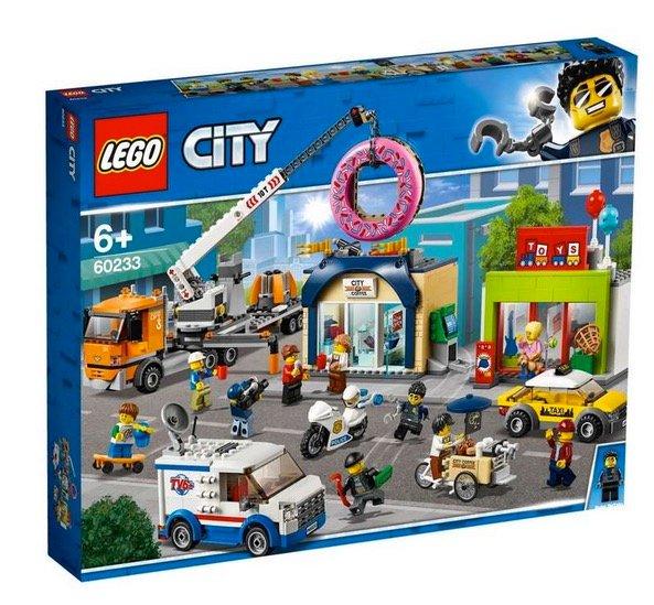"""Lego City """"60233"""" Große Donut-Shop-Eröffnung für 49,71€ (statt 58€)"""