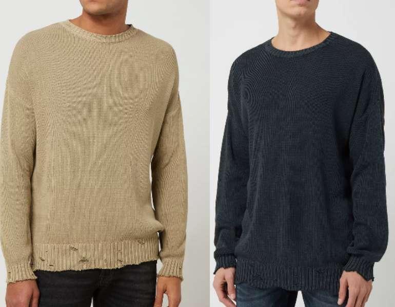 Review Pullover im Used Look (2 Farben) für 16,99€ inkl. Versand (statt 30€)