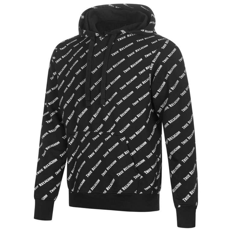True Religion All-Over Logo Herren Hoodie für 38,94€ (statt 50€)