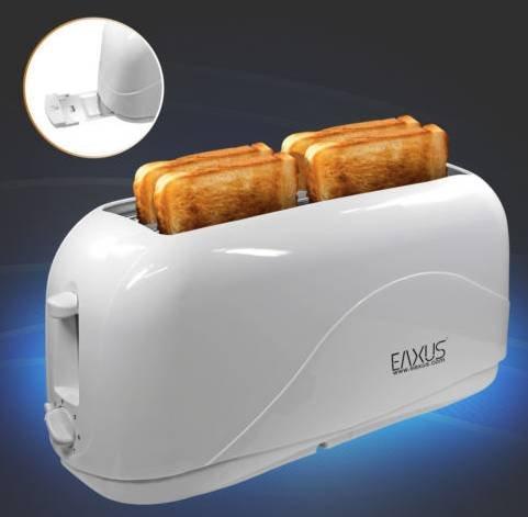 """Eaxus """"Cool Touch"""" 4-Scheiben Langschlitz Toaster für 16,99€ inkl. Versand"""