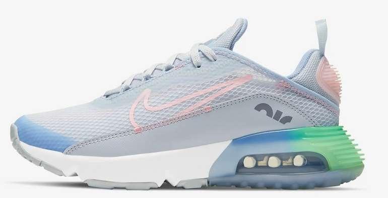 Nike Air Max 2090 SE Kinder Sneaker in Grau/Blau für 65,60€ inkl. Versand (statt 79€) - Membership!