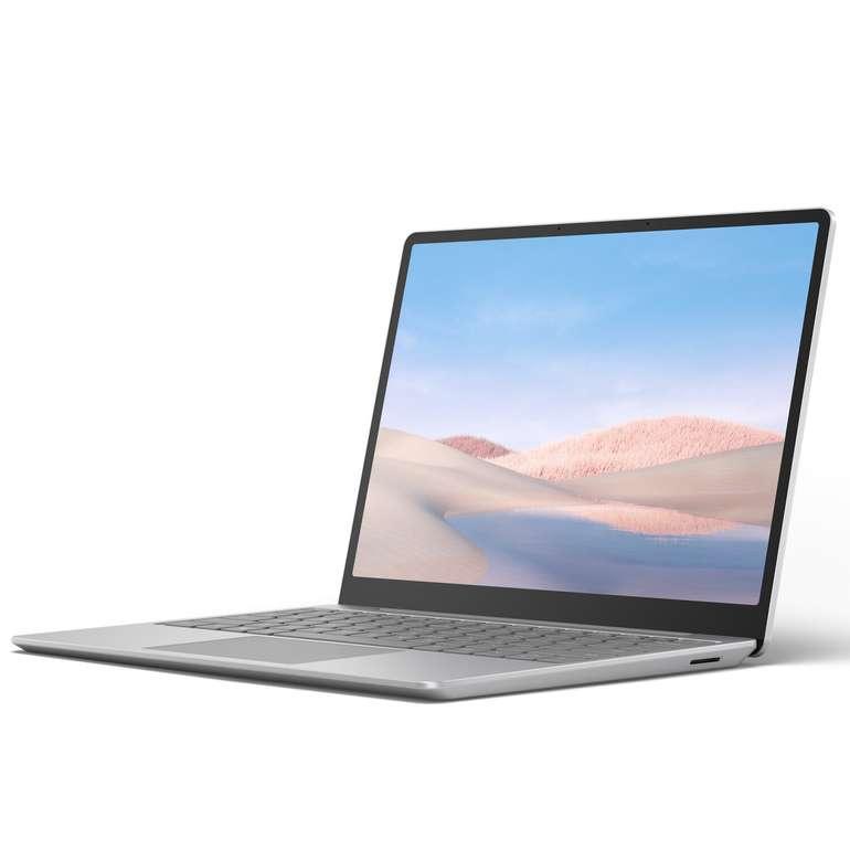 Microsoft Surface Laptop Go Platin (i5-1035G1, 128GB SSD, 8GB) für 499€ inkl. Versand (statt 549€)