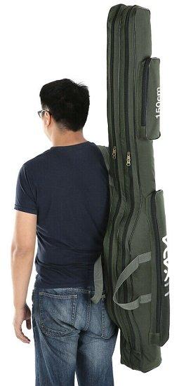 Lixada 150cm Fishing Bag (Angeltasche) für 11,80€ (statt 17€)