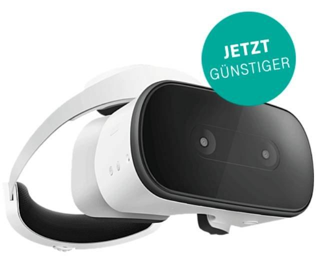 Schnell? Lenovo Mirage Solo VR-Headset (4GB RAM, 64GB Speicher, Daydream) für 99€ inkl. Versand (statt 299€)