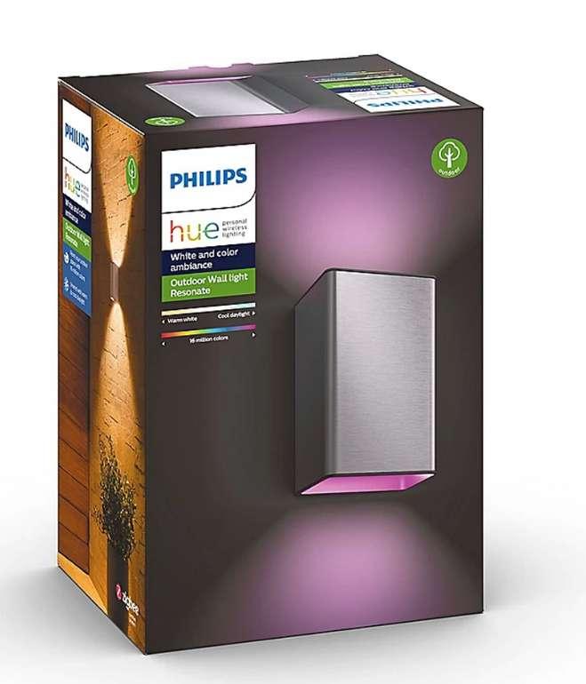 2er Pack Philips Hue Outdoor Resonate Wandleuchten für 184,49€ inkl. Versand (statt 226€)