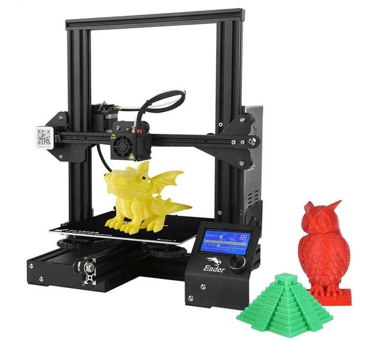Creality3D Ender - 3 DIY 3D Drucker für 119,69€ inkl. Versand (statt 155€)