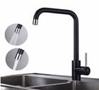 Homelody Küchen Wasserhahn in schwarz mit 2 Strahlen für 31,99€ (statt 53€)
