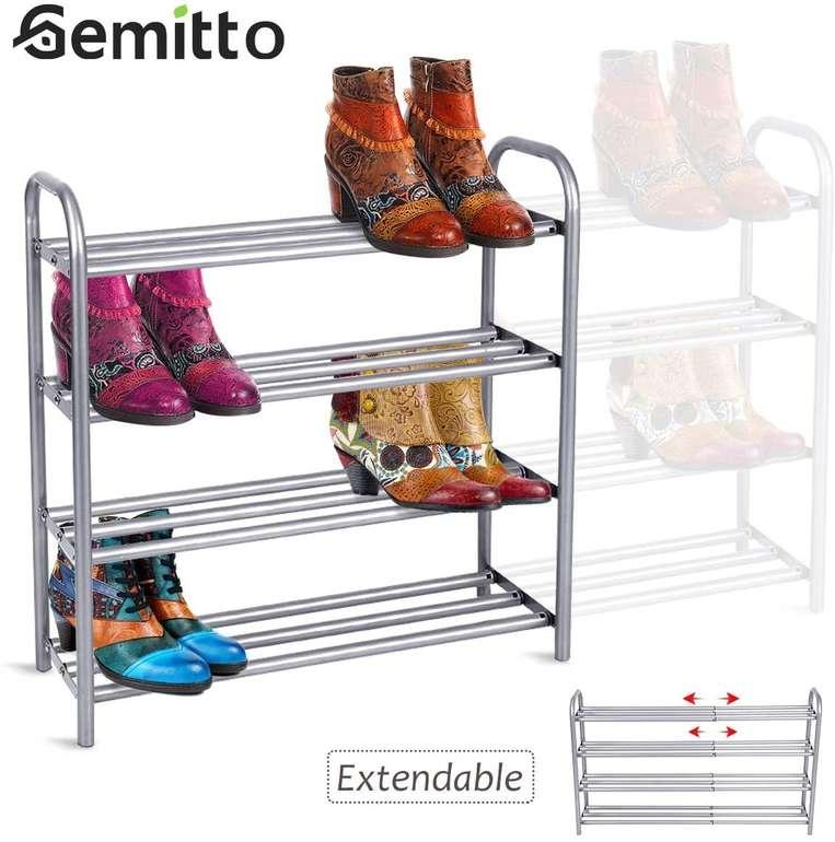 Gemitto - ausziehbares Schuhregal mit 4 Ebenen (für 20 Paar Schuhe) für 23,99€ inkl. Versand (statt 40€)