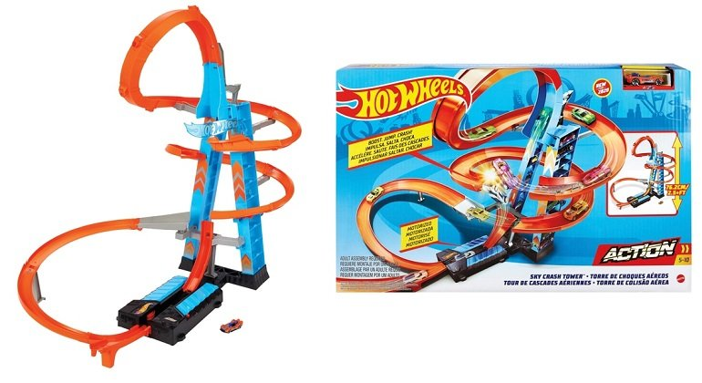 Hot Wheels Himmelscrash-Turm Sky Crash Tower