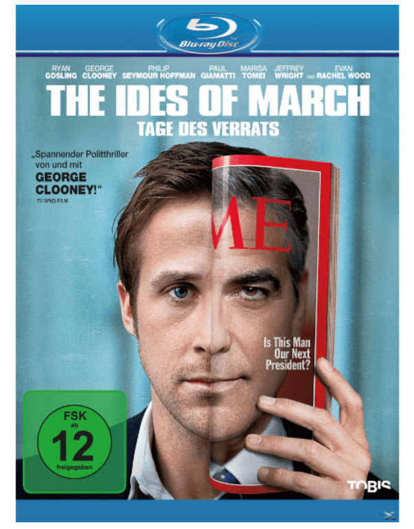 The Ides of March - Tage des Verrats Blu-ray für 5€ inkl. Versand