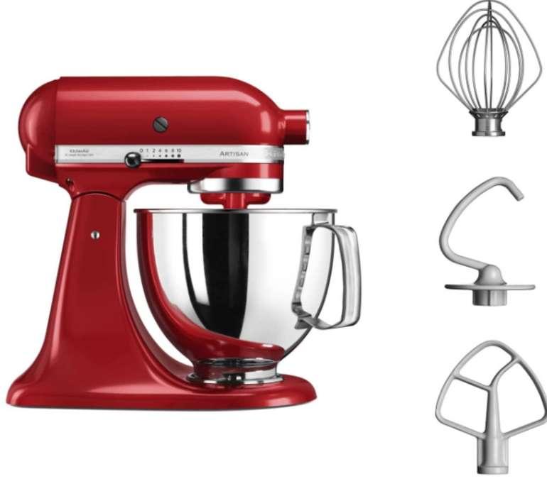 KitchenAid Veggie Set 5KSM125EER Artisan + 5KSMVSA Küchenmaschine für 399€