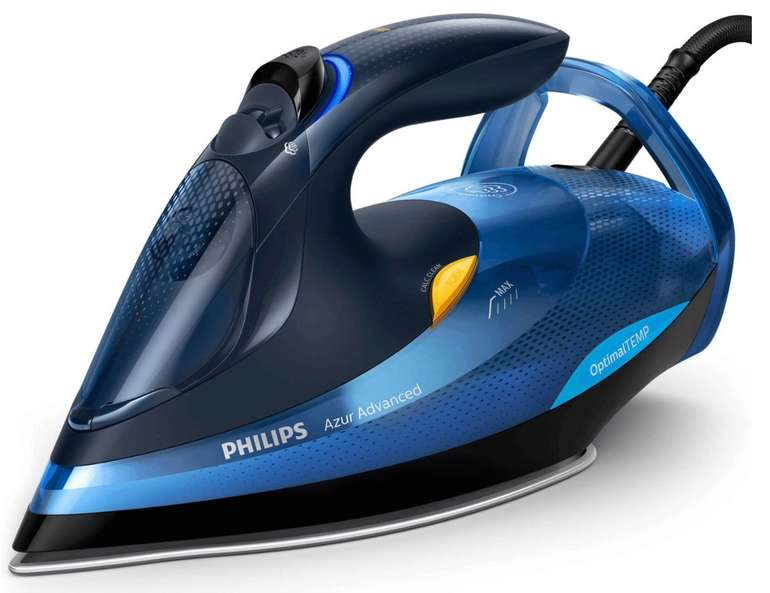 Philips GC4937/20 Azur Advanced 3000W Dampfbügeleisen für 73,94€ (statt 88€)