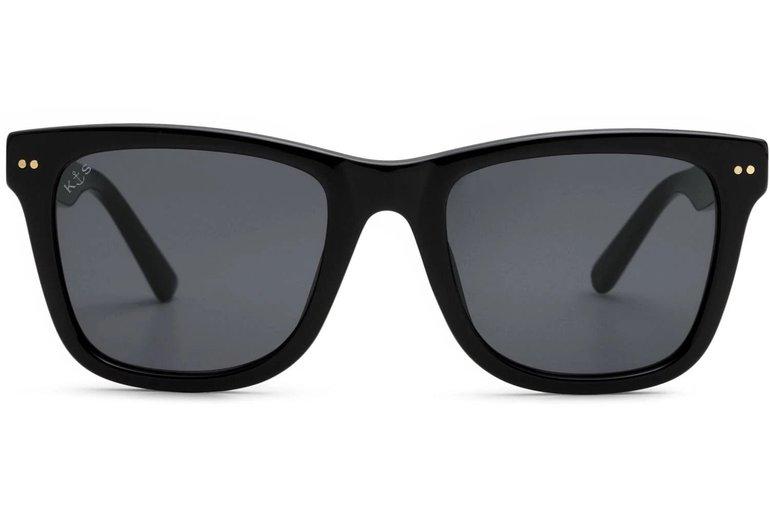 Kapten & Son Sonnenbrille 'Malibu' in schwarz für 71,91€ inkl. VSK (statt 99€)