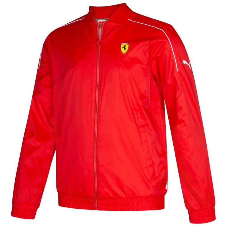 Puma Junior Scuderia Ferrari Track Jacket Kinder Jacke für 13,94€ inkl. Versand