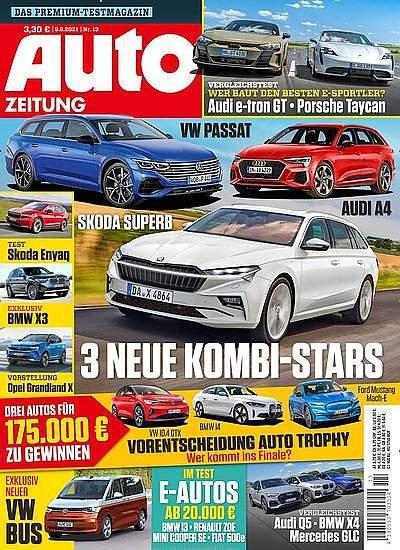 Auto Zeitung im Jahresabo für 92,50€ + z.B. 90€ Bestchoice Gutschein