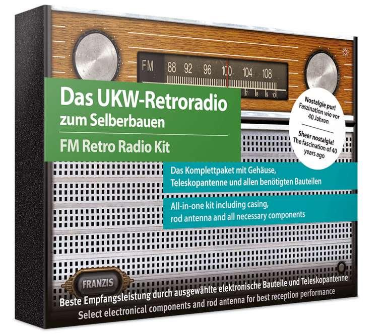 Franzis - Das UKW-Retroradio zum Selberbauen für 12€ inkl. Versand (statt 26€)