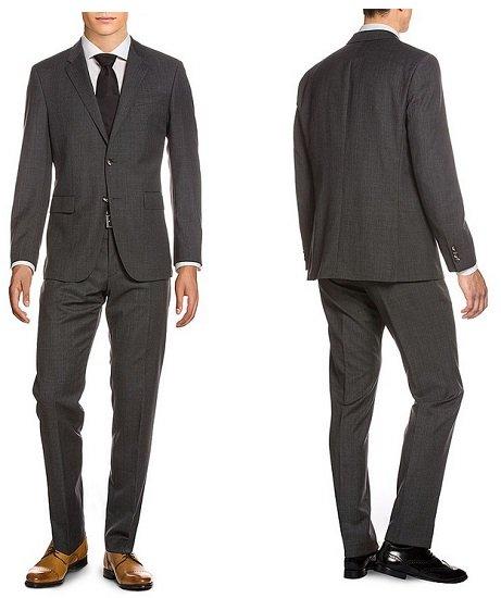 Tommy Hilfiger Anzüge im Sale, z.B. Anzug aus Schurwolle in Tailored Fit für 186,89€