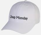 Cheap Monday Cap in weiß für 9,27€ inkl. Versand (statt 14€)