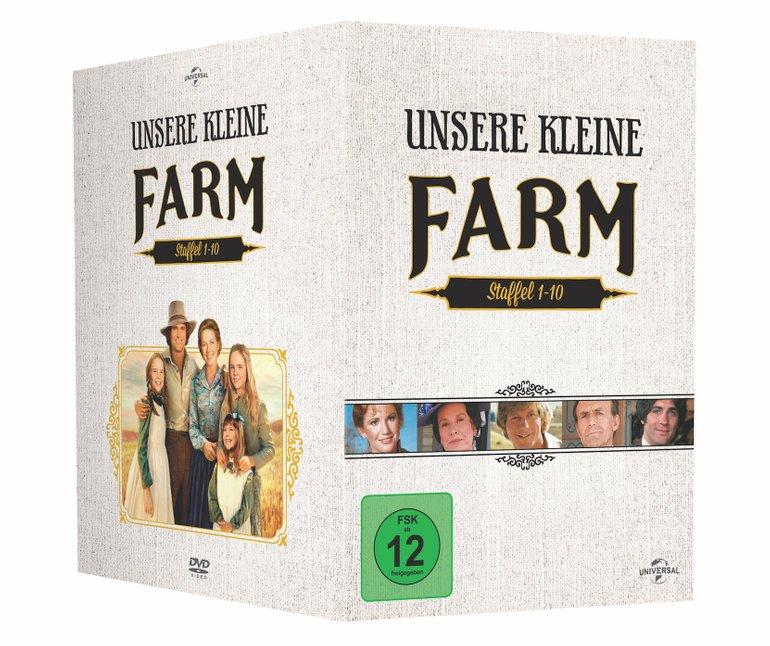 Unsere kleine Farm - Die komplette Serie / Staffel 1-10 (DVD) für 56,99€
