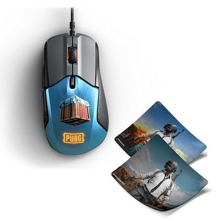 SteelSeries Rival 310 PubG Edition mit 2 Mauspads für 39€ inkl. VSK (statt 81€?)