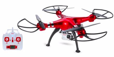 Syma X8HG RC Quadcopter Barometer Set Height Drone + Zubehör für 54,50€
