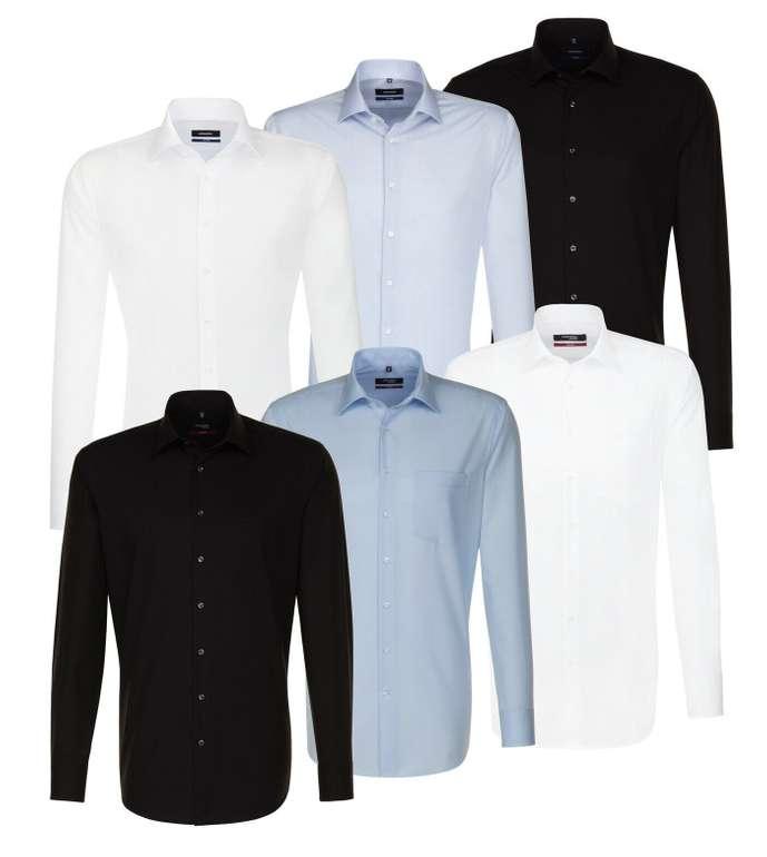 Seidensticker Herren Langarm Hemd- Uni Popeline Business für je 24,95€ inkl. Versand (statt 30€)