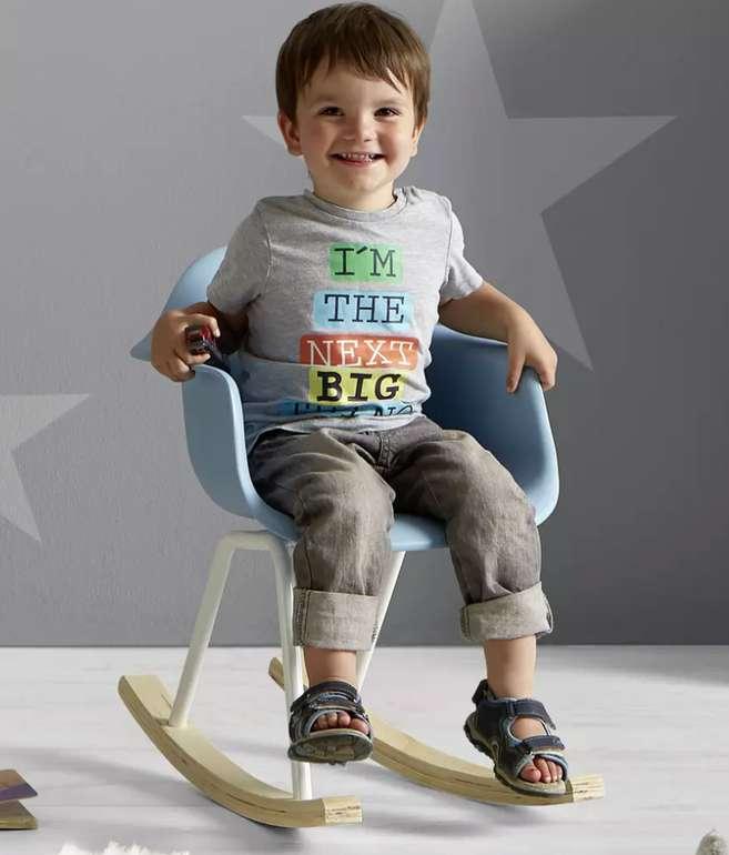 Bessagi Kids Kinderschaukelstuhl in blau für 23,38€ inkl. Versand (statt 32€)