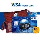 Visa World Card: Ohne Jahresgebühr, gebührenfrei im EU-Ausland + Wunsch-PIN