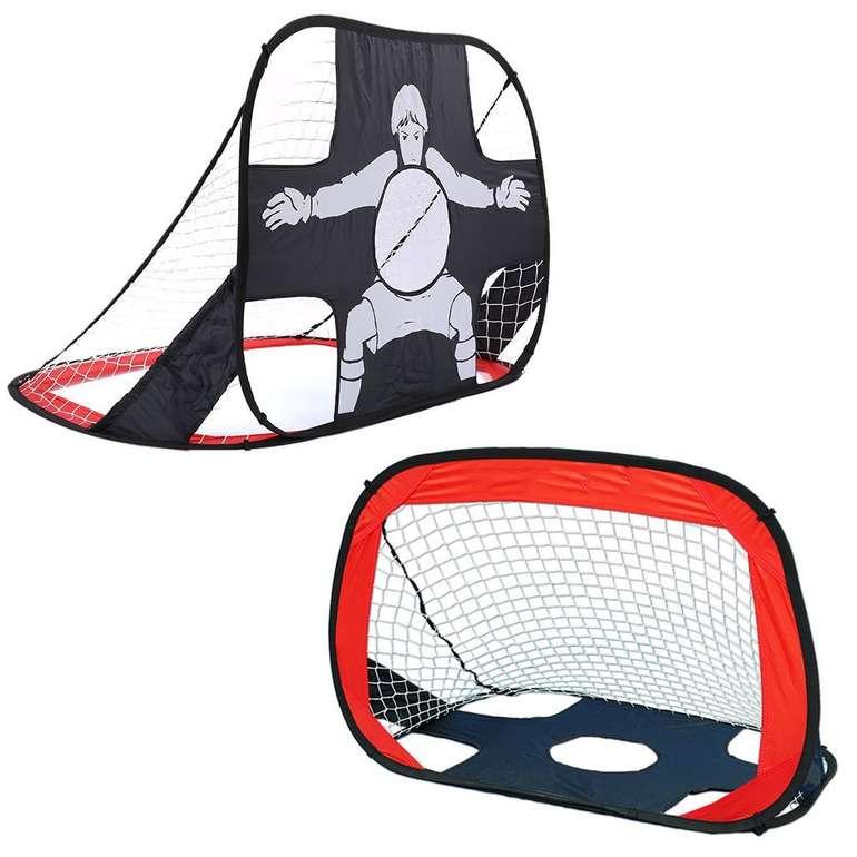 Shinehalo 2-in-1 Pop Up Fußballtor (105 x 75 x 75 cm) für 9,90€ inkl. Prime VSK