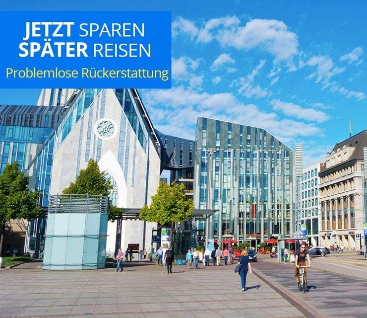Leipzig: 1 Nacht im Komfort Zimmer mit Frühstück im neueröffneten H2 Hotel Leipzig ab 59–69 € bis Nov.