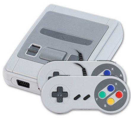 SNES Mini Nachbau (8-Bits Clone Konsole) mit 621 Games für 24,89€ inkl. Versand