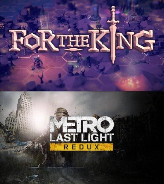Epic Games Store: Metro: Last Light Redux & For The King kostenlos herunterladen