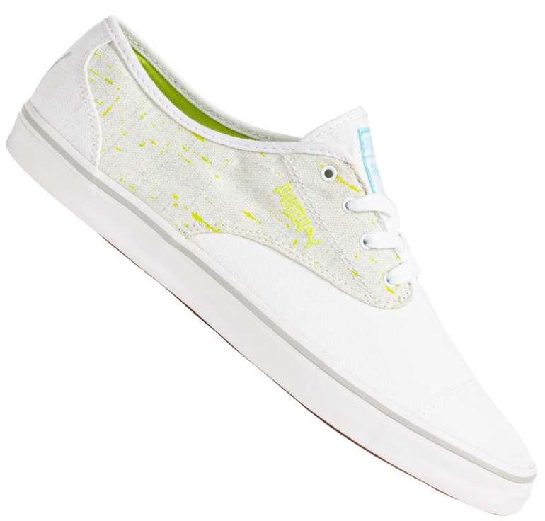 Puma Kamila Splatter Damen Sneaker in Weiß für 17,94€inkl. Versand (statt 25€)