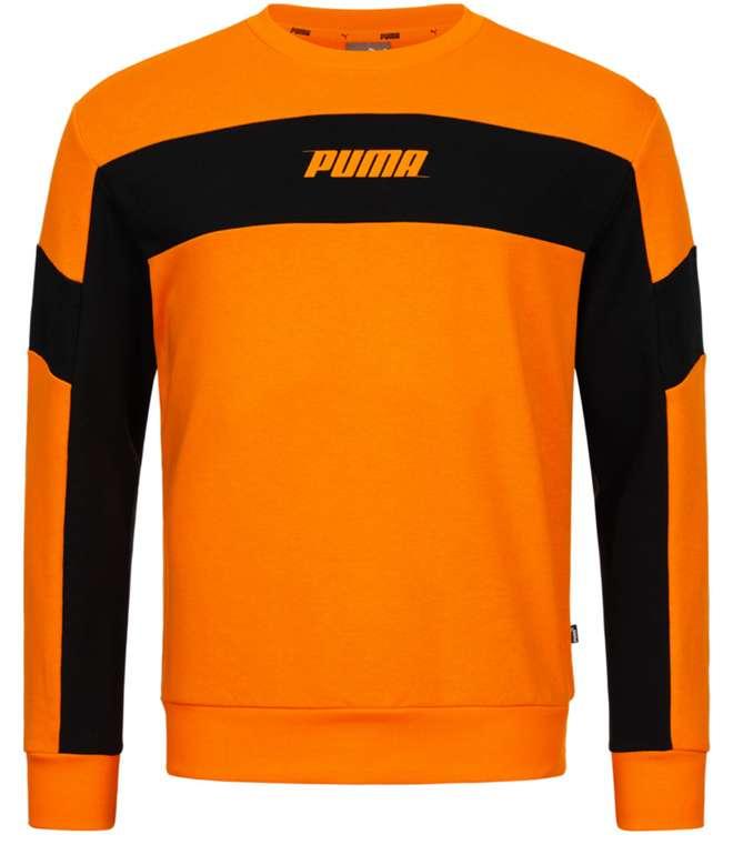 Puma Rebel Crew Herren Sweatshirt in Orange für 22,13€ inkl. Versand (statt 35€)