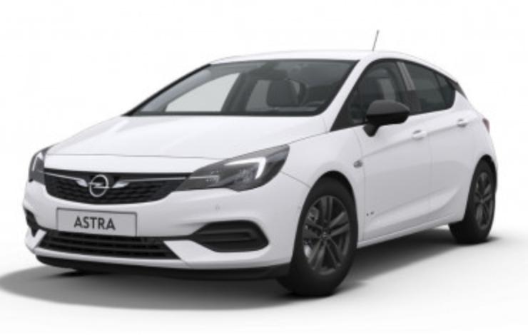 Gewerbeleasing: Opel Astra K mit 110 PS für 55€ netto mtl. (Eroberung, LF: 0.26)