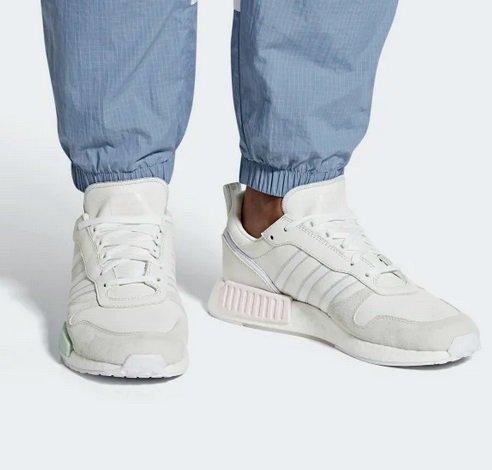 """Adidas Rising StarxR1 Sneaker im """"Cloud White/Ftwr White/Grey One""""-Colorway für 59,98€ (statt 80€)"""