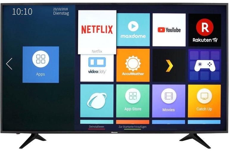 "Hisense H65AE6030 65"" 4K/UHD LED Fernseher für 479€ inkl. Versand"