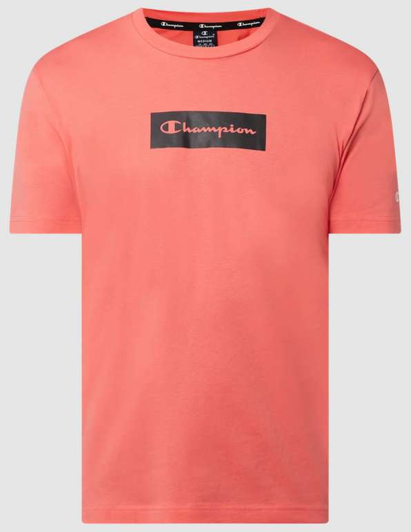 Champion Custom Fit T-Shirt aus Baumwolle für 7,99€inkl. Versand (statt 23€) - Restgrößen!