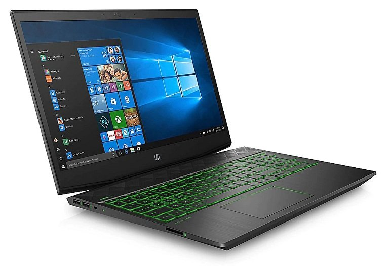 "HP Pavilion 15-cx0075ng - 15,6 "" FHD Notebook mit i5, 16GB RAM, 1TB + 256GB SSD & GTX1050Ti für 654,99€"