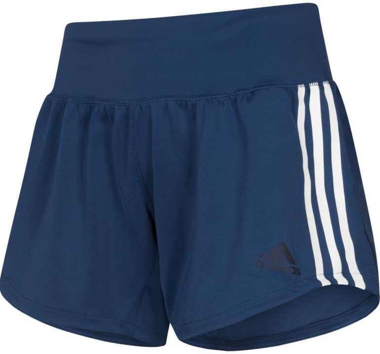 adidas 3 Stripes Gym Damen Shorts in Blau für 17,94€ inkl. Versand (statt 28€)