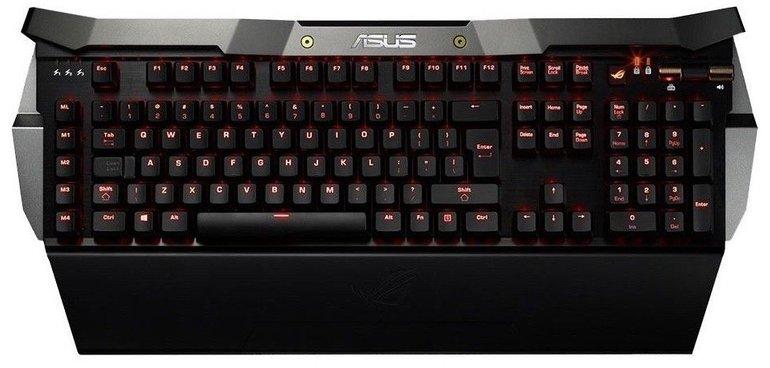 Asus ROG GK2000 Horus mechanische Gaming-Tastatur mit Beleuchtung nur 154,95€ inkl. Versand (statt 198€)