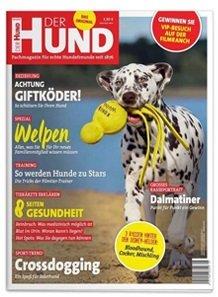 """2 Ausgaben """"Der Hund"""" gratis – Fachmagazin für Hundefreunde im Testabo!"""