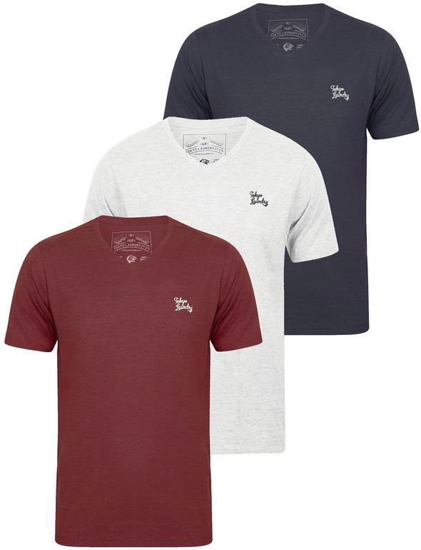 Tokyo Laundry: 6 T-Shirts aus 100% Baumwolle für 27,53€ inkl. Versand
