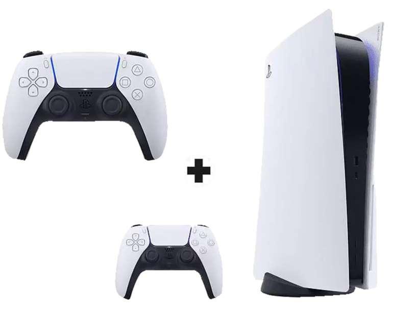 Playstation 5 Disc Version (49,99€) + 2. Controller + Telekom (14 GB) oder Vodafone green LTE 15GB Allnet Flat für 41,99€ mtl.