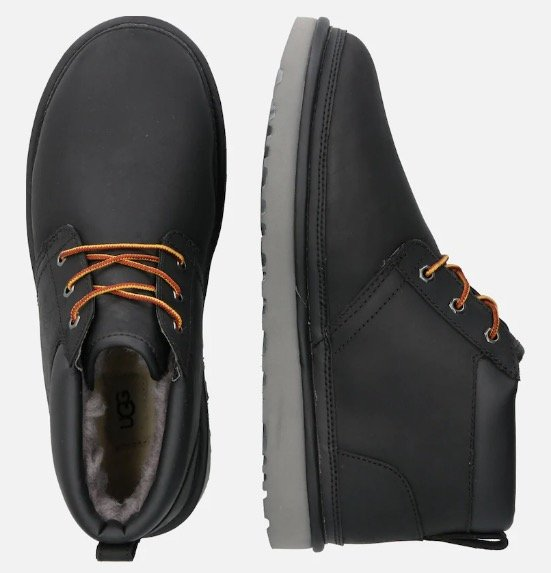 UGG Herren Stiefel 'Neumel Utility' in schwarz für 75,92€ inkl. Versand (statt 131€)