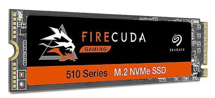 Seagate FireCuda 510 Gaming SSD 1 TB NVMe 1,3 SSD (bis zu 3450 MB/s, 3D TLC NAND, PCIe Gen3 ×4) für 102,49€